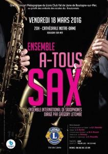 Affiche Concert Boulogne
